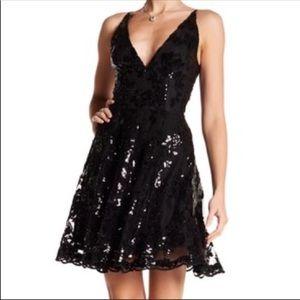 Dress the Population Morgan Sequin Embellished